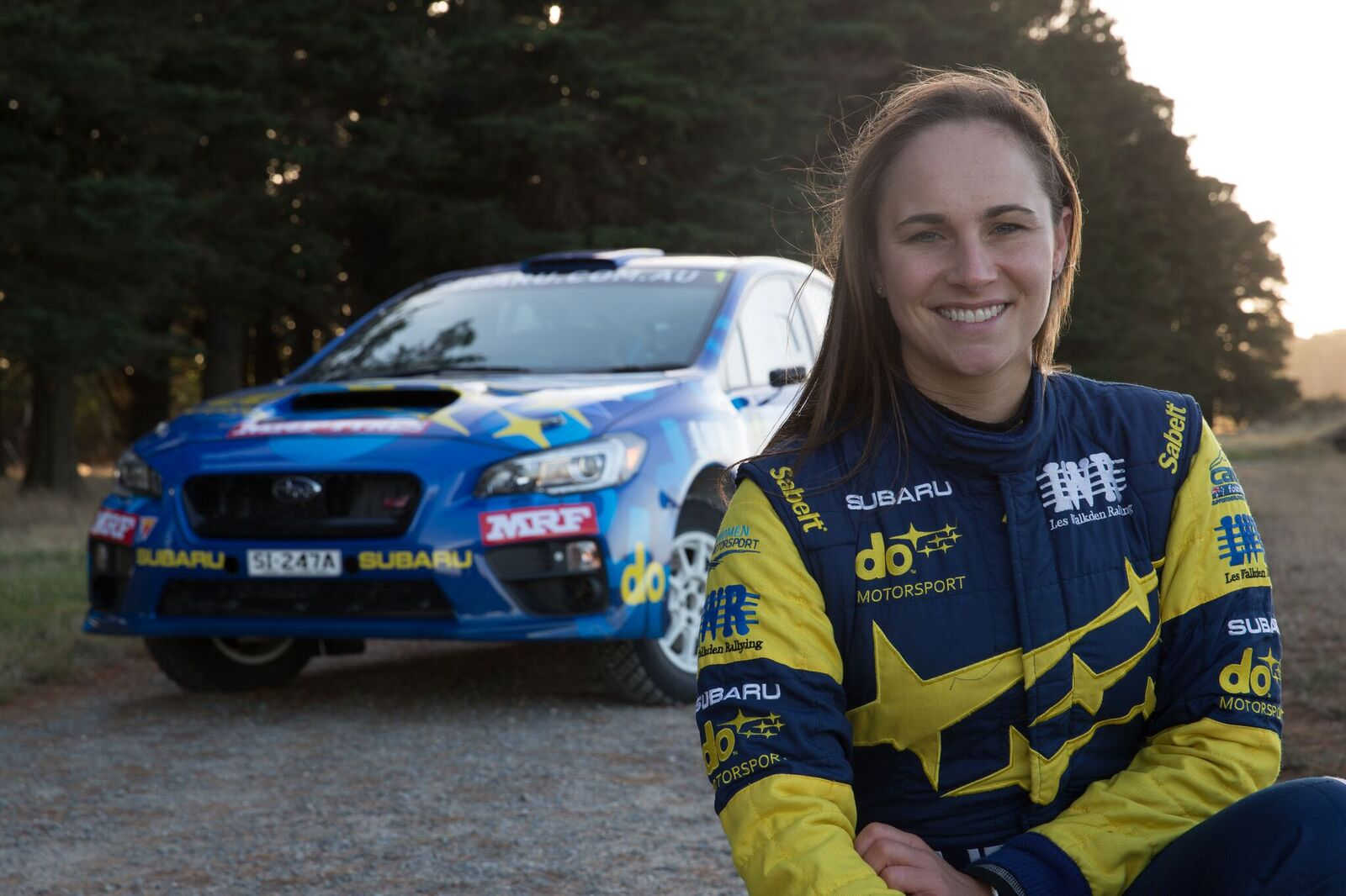 SUBARU DO PODIUM PRESSURE IN WA