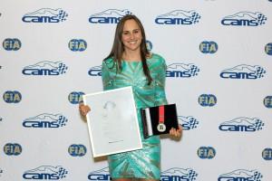 Molly Wins Peter Brock Medal