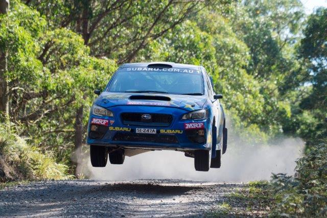 SUBARU GETS INTO GEAR AT EUREKA RALLY