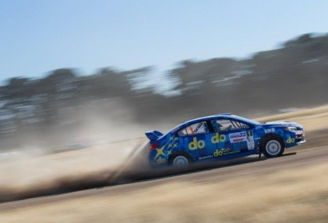 DAY OF DRAMA IN THE DUST FOR RALLY RETURN