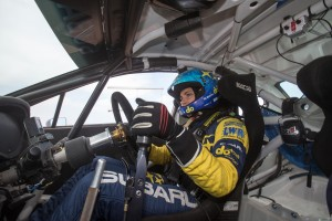 Why is triathlon a good sport for a rally driver?